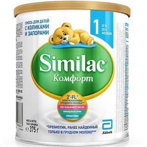 Молочная смесь  Комфорт 1, с 0 мес, 375 г Similac