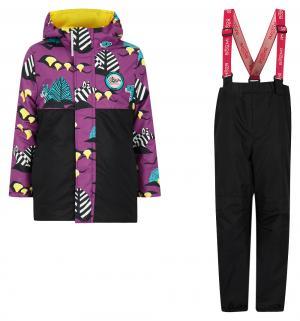 Комплект куртка/брюки , цвет: фиолетовый Boom