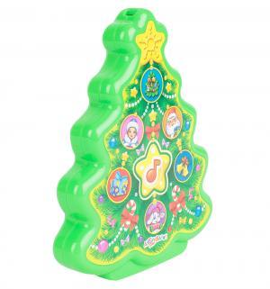 Интерактивная игрушка  Елочка 11.5 см Азбукварик