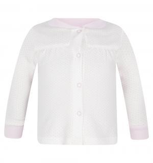 Джемпер  Горошек, цвет: бежевый/розовый Папитто