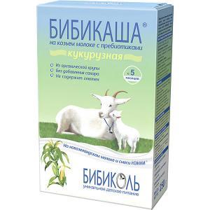 Каша  кукурузная на козьем молоке с 5 мес, 6 шт по 200 г Бибиколь
