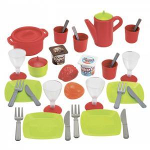 Набор посудки Chef 36 предметов Ecoiffier