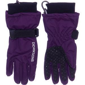 Перчатки Didriksons Biggles DIDRIKSONS1913. Цвет: лиловый