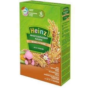 Каша  безмолочная 5 злаков с 6 месяцев 200 г Heinz