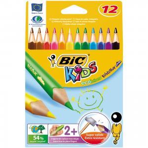 Карандаши цветные  Эволюшен Триэнжел 12 цветов BIC