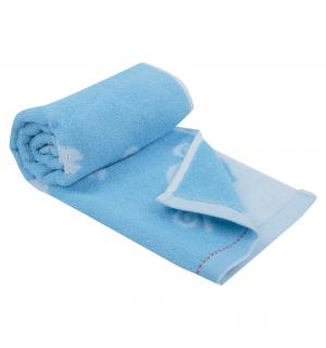 Полотенце  Овечка 37 х 75 см, цвет: голубой Артпостель