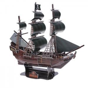 3D Пазл Корабль Черная жемчужина (155 деталей) Funny