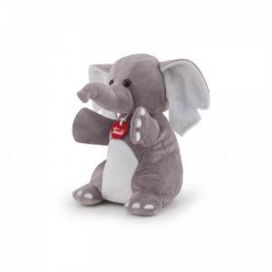 Мягкая игрушка на руку Слон 19х26х15 см Trudi