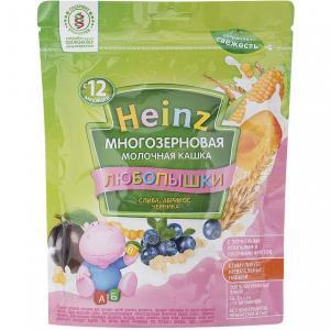 Каша  молочная многозерновая слива-абрикос-черника с 12 месяцев 200 г Heinz