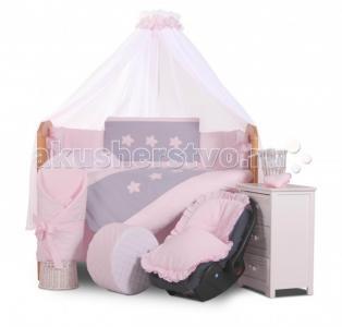 Комплект в кроватку  Stars (6 предметов) Tuttolina