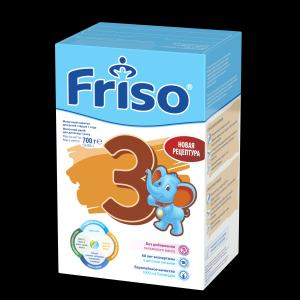Молочная смесь  LockNutri 3 с 12 месяцев, 700 г Friso