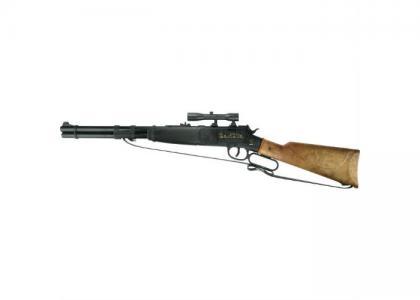 Игрушечное оружие Винтовка Dakota 100-зарядные Rifle 640mm Sohni-wicke