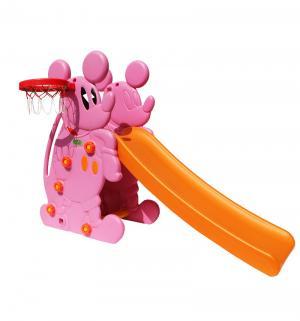 Горка  Мышка PS-027, цвет:розовый Perfetto Sport