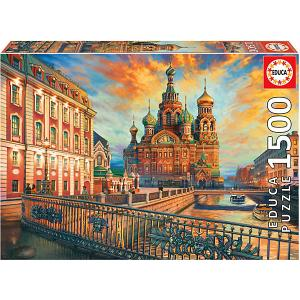 Пазл 1500 деталей Санкт-Петербург Educa