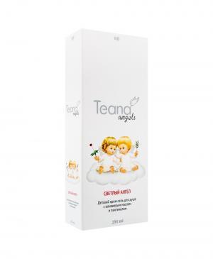Детский крем-гель для душа с оливковым маслом и пантенолом Светлый ангел, 250 мл Teana