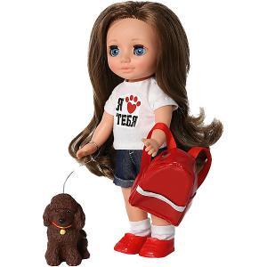 Кукла  Ася Приключения с Кудряшиком, 26 см Весна. Цвет: разноцветный