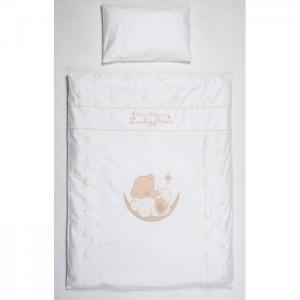 Постельное белье  Счастливый мишка (3 предмета) Селена (Сдобина)