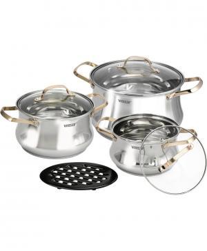 Набор посуды из 7-ми предметов Vitesse