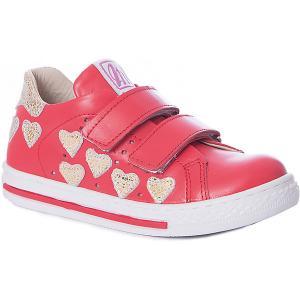 Полуботинки  для девочки Minimen. Цвет: розовый