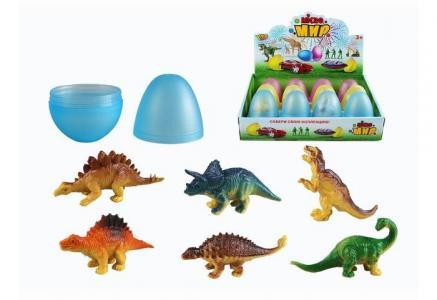 Игровой набор Животные в яйце 12 шт. M0289-1 Yako