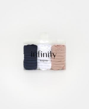 Набор из 3-х трусов-стрингов Infinity Lingerie