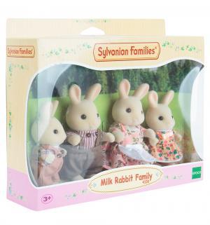 Игровой набор  Жители страны Сильвании Семья молочных кроликов Sylvanian Families