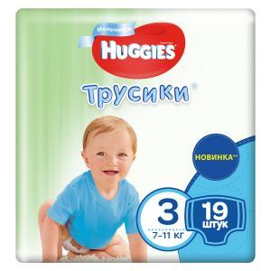 Трусики-подгузники  Pants 3 для мальчиков (7-11 кг) 19 шт. Huggies
