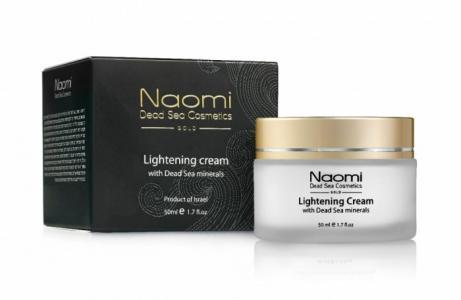 Осветляющий крем с минералами Мертвого моря 50 мл Naomi