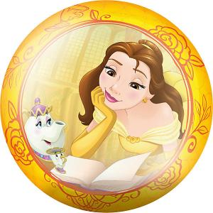Мяч  Принцессы, 23 см Fresh Trend. Цвет: желтый