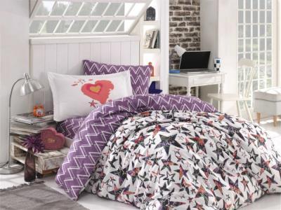 Постельное белье  Carmen 1.5-спальное Евро (4 предмета) Hobby Home Collection