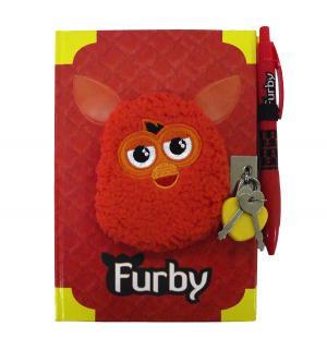 Дневник Langton для записей  красный Furby