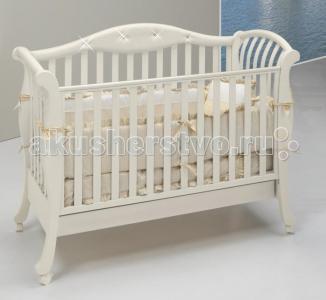 Детская кроватка  Divina Glamour Cristallo Bambolina