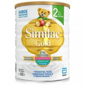 Молочная смесь  Gold 2 6-12 месяцев, 800 г Similac