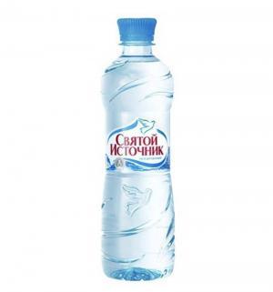 Вода  Негазированная, 0.5 л, 1 шт Святой Источник