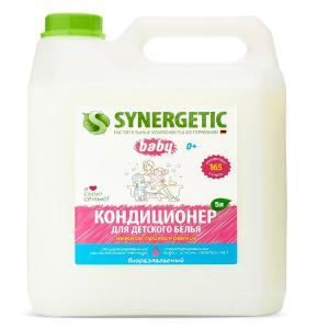 Кондиционер для белья,  (Синергетик), \Нежное прикосновение\, 5 л. Synergetic