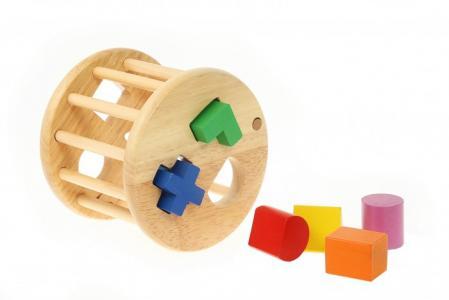 Деревянная игрушка  Сортер круглый Viga