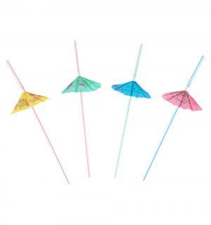 Соломки для напитков  с зонтиком 8 шт 24 см Патибум