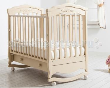 Детская кроватка  Шарлотта качалка Гандылян