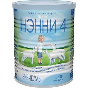 Молочный напиток на основе козьего молока  4, с 18 мес, 800 г Нэнни