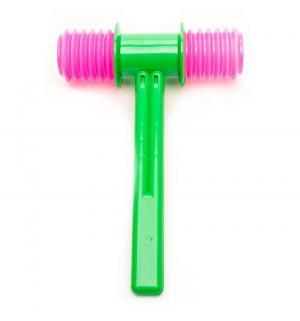 Развивающая игрушка  Молоток озвученный, цвет: зеленый 19.2 см Аэлита