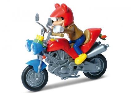 Мотоцикл с фигуркой Disney 1:18 Motorama