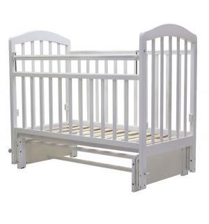 Кровать  Лира-5, цвет: белый Топотушки