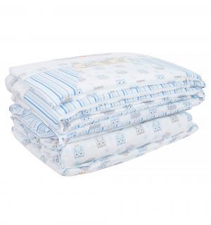 Комплект постельного белья  Софушки, цвет: голубой Сонный гномик