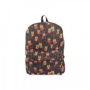 Рюкзак Филины с 1 карманом, цвет черный Creative LLC
