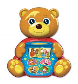 Музыкальная игрушка  Мишка косолапый любимая сказочка 12 см, коричневый Азбукварик