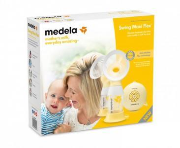 Молокоотсос двойной электрический Swing Maxi Flex (Медела Свинг Макси Флекс) Medela
