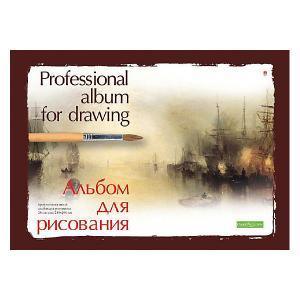 Альбом для рисования  Профессиональная на склейке, А4, 20 листов Альт. Цвет: разноцветный
