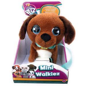 Инерактивный щенок  Club Petz Mini Walkiez Chocolab IMC Toys. Цвет: коричневый