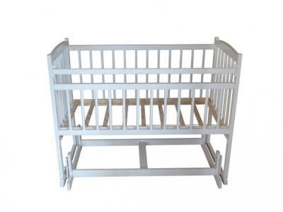 Детская кроватка  Беби 4 поперечный маятник Массив