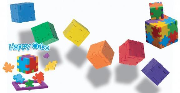 Набор 6 пазлов Happy Cube